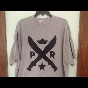 PR Puerto Rico Machette T-shirt New